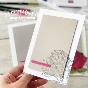 Stampin' Sunday share inspiration using the Peony Garden Suite by Mikaela Titheridge, UK Independent Stampin' Up! Demonstrator, The Crafty oINK Pen. Stampin' Up! Products available through my online UK store 24/7. Use my Shopping Code at checkout for personal rewards from me.