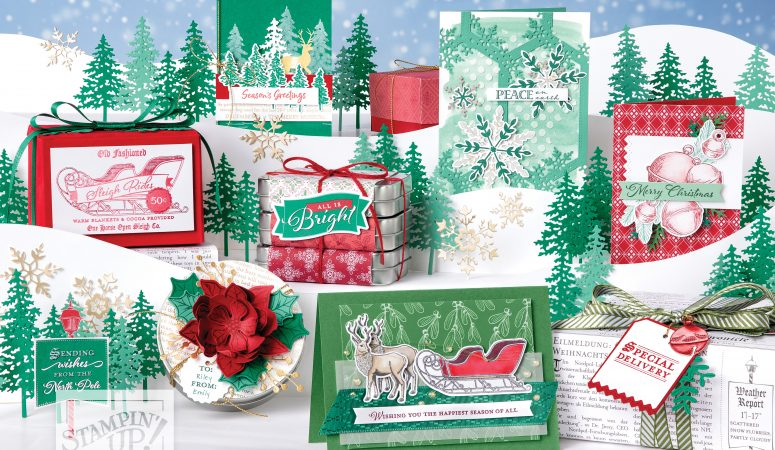 The Stampin' Up! Mini Christmas Catalogue is here