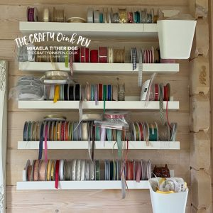 Craftroom Tour of The Crafty oINK Pen Studio where I show you the IKEA Kallax Storage system, with inserts from Creations by Rod, along with a lot of Storage and lighting suggestions for your Papercraft supplies and scraps and labelling by Mikaela Titheridge, UK Independent Stampin' Up! Demonstrator, The Crafty oINK Pen. Buy your Stampin' Up! Products through my online store 24/7. Use my Shopping Code at checkout for personal rewards from me. Can be found here on my Blog.