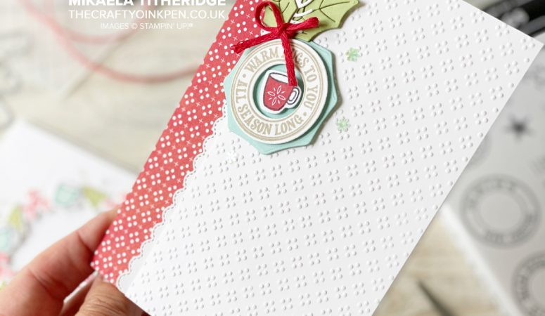 Mugs, Candy Canes and Warm Hugs from Stampin' Up!