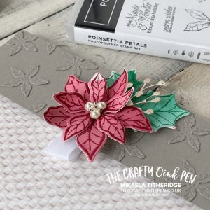 You Can Create it YCCI with our Quarterly Papercraft Kit. Tasteful Touches teamed with Poinsettia Petals for an Envelope Wallet mini album by Mikaela Titheridge, UK Independent Stampin' Up! Demonstrator, The Crafty oINK Pen. Buy your Stampin' Up! Products through my online store 24/7. Use my Shopping Code at checkout for personal rewards from me. Can be found here on my Blog.