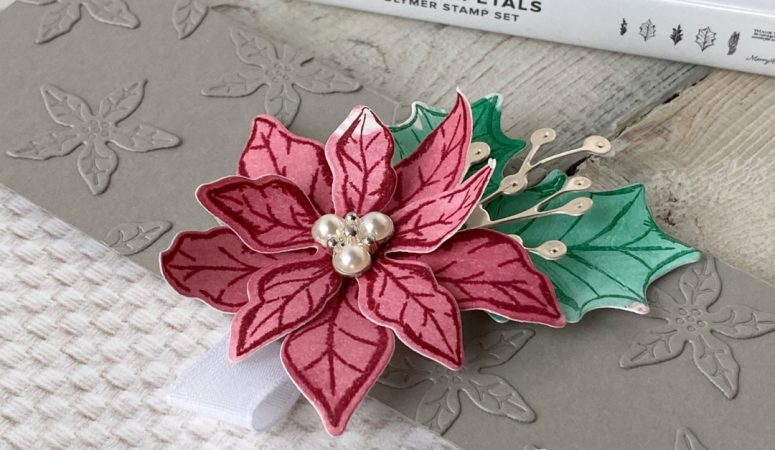 You Can Create it with a Tasteful Poinsettia and Envelopes