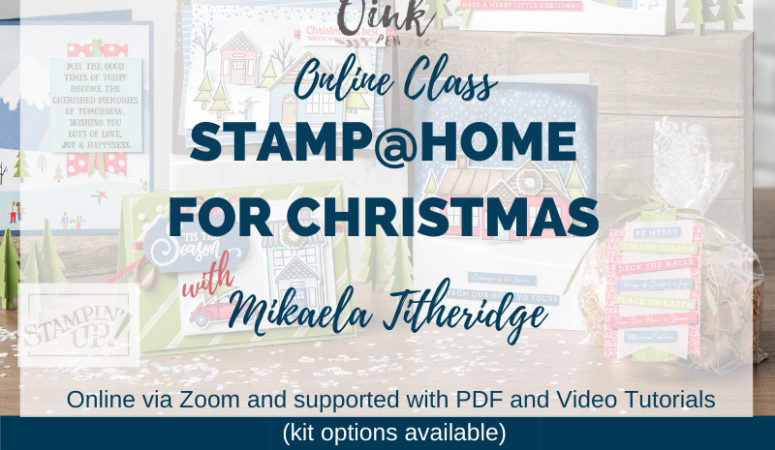 Stamp@Home for Christmas – Online Event