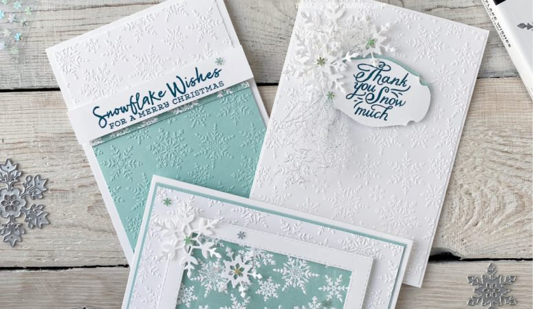 Stampin' Sunday – Texture Time with Embossing Folders
