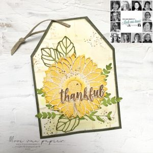 You Can Create it like Anne-Marie with the September You Can Create it Papercraft Kit. Buy your Quarterly Kit here in the UK from me, Mikaela Titheridge, The Crafty oINK Pen. Independent Stampin' Up! Demonstrator.