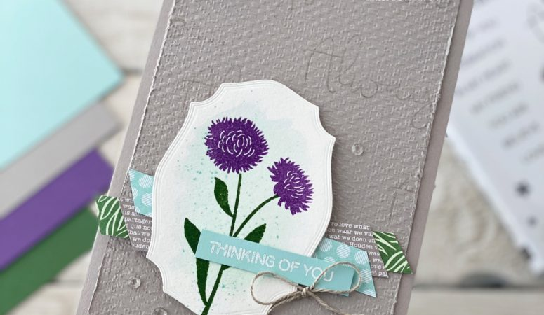 Stampin' Fancy Friday – Core Colour Challenge