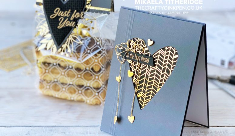 Stamping Sunday – Gold Laser Cut Paper