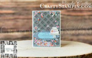You Can Create it with our Papercraft Kit. Kit available in the UK from Mikaela Titheridge, UK Independent Stampin' Up! Demonstrator, The Crafty oINK Pen. Buy your Stampin' Up! Products through my online store 24/7. Use my Shopping Code at checkout for personal rewards from me. Can be found here on my Blog.