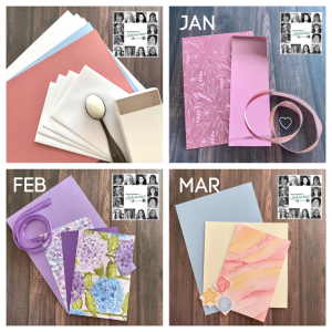 Quarterly You can Create it Papercraft Kit