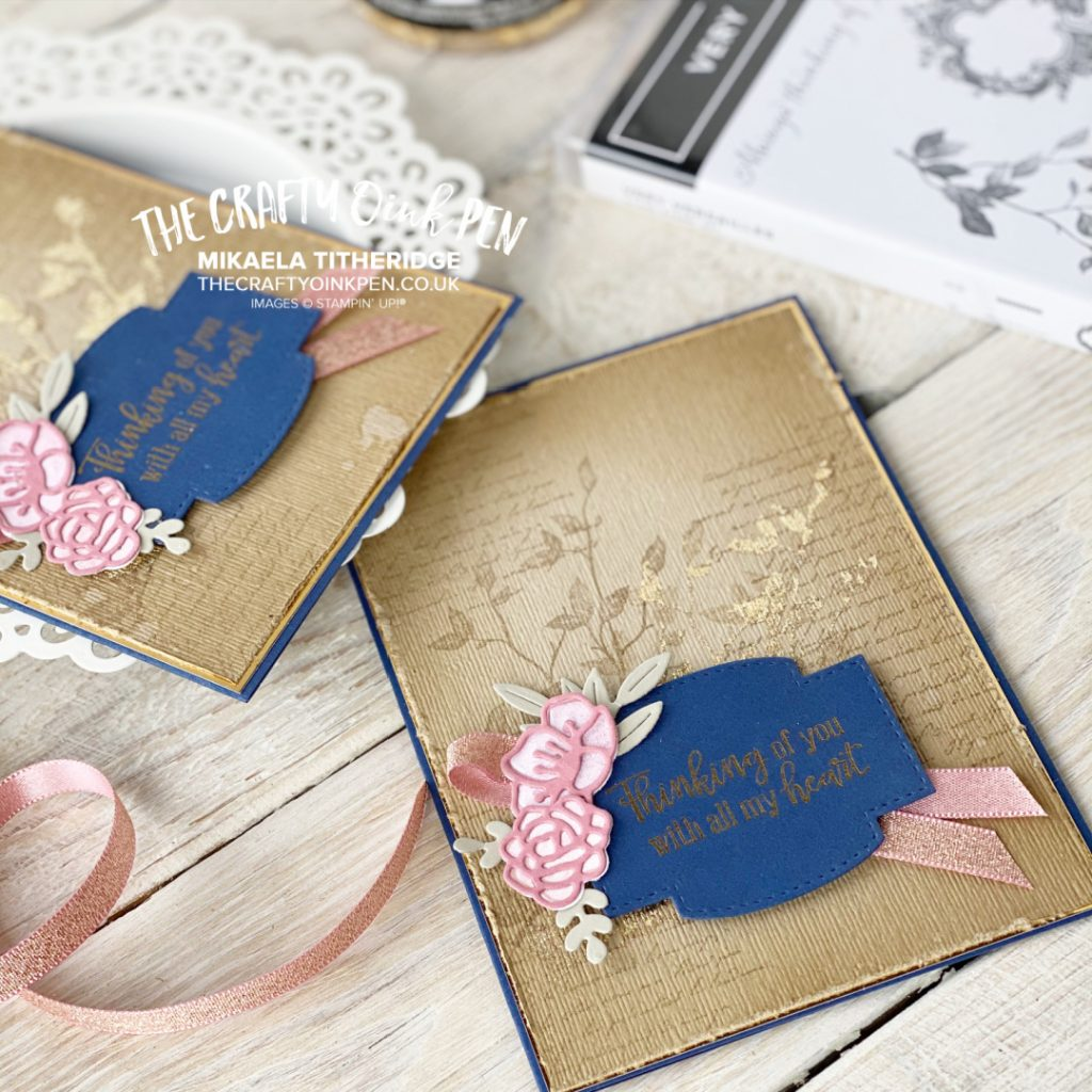 Love you always very versailles for a vintage style handmade card with flowers