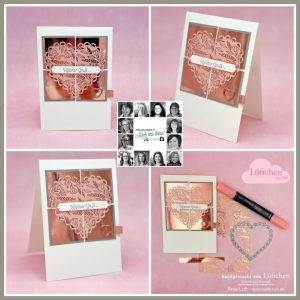 Handmade Greetings Cards made using the You Can Create it Papercraft Kit
