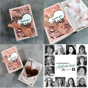 Handmade Greetings cards made by the You Cann Create it Team