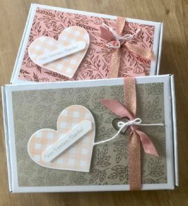 Handmade Greetings cards/boxes made by the You Can Create it team