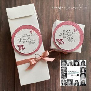 Handmade Greetings card and boxes made by the You Can Create it Team