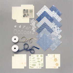 Boho Indigo Product Medley elements