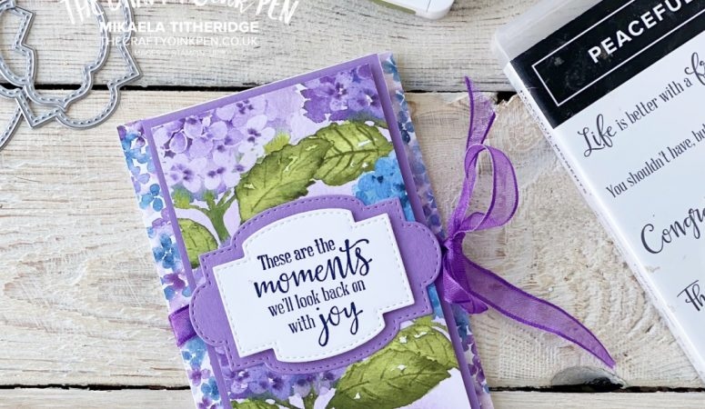 You Can Create it with Stampin' Up!'s Hydrangea Hill