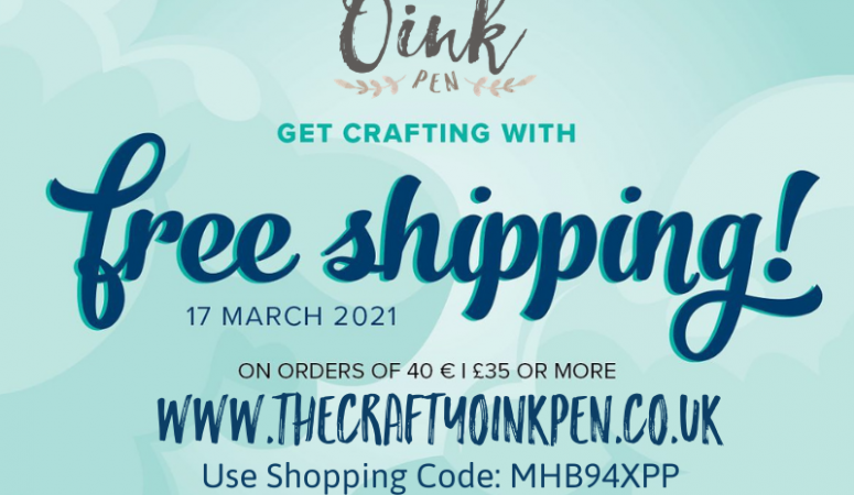 Stampin' Up! 24 hours of FREE Postage