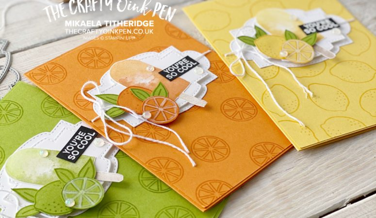 OSAT – One Stamp at a Time – Simply Citrus Birthday