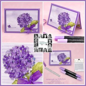 You Can Create it papercraft kit project using Hydrangea Hill Suite by Stampin' Up!