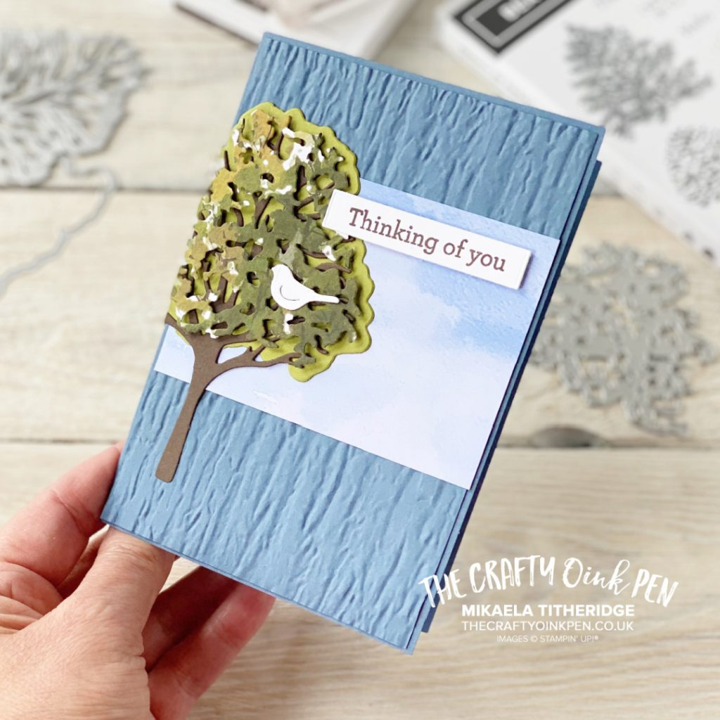 Stampin' Up! Beauty of the Earth Tree Card Thinking of you