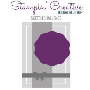 Stampin' Creative Sketch Challenge