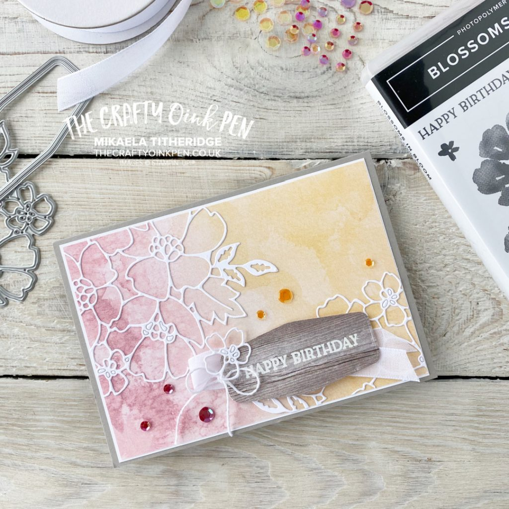 Let's Get Hopping Returning Favourites Blossoms in Bloom Card