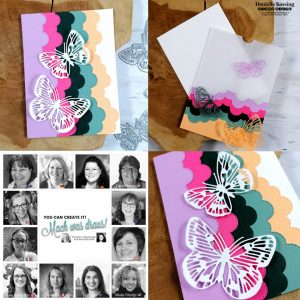 You Can Create it papercraft kit samples