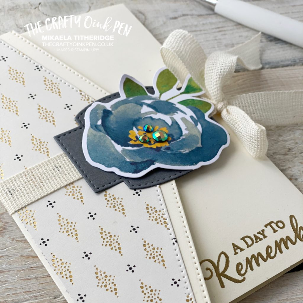 Simply Elegant Fancy Fold Card and Money Wallet