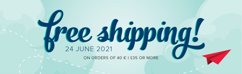 Buy your Stampin' Up! Products here through Mikaela Titheridge at The Crafty oINK Pen. UK Independent Stampin' Up! Demonstrator and obtain FREE Shipping on 24th June 2021 for 24 hours