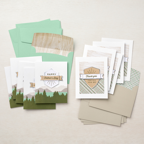 Stampin' Up! For the Guys All Inclusive Card Kit adapted