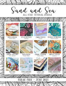 All Star Tutorial Bundle for June 2021 using Sand and sea Suite