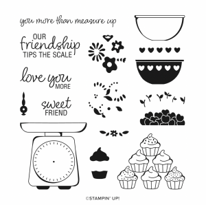 Stampin' Up! Measure of Love Stamp Set available to purchase here