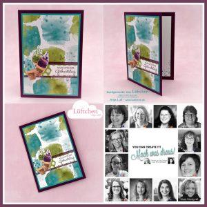 YCCI Quarterly Stampin' Up! Papercraft Kit Team Inspiration using Ice Cream Corner Suite