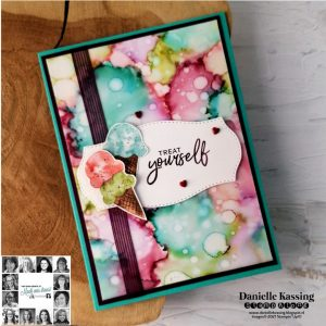 You Can create it with this Stampin' Up! Quarterly Papercraft kit and the Ice Cream Corner Suite. Inspiration from the YCCI Team
