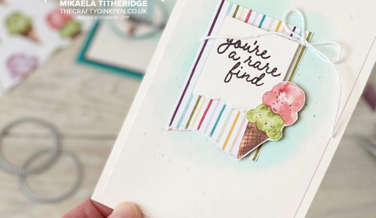 You Can Create it with Stampin' Up!'s Ice Cream Corner