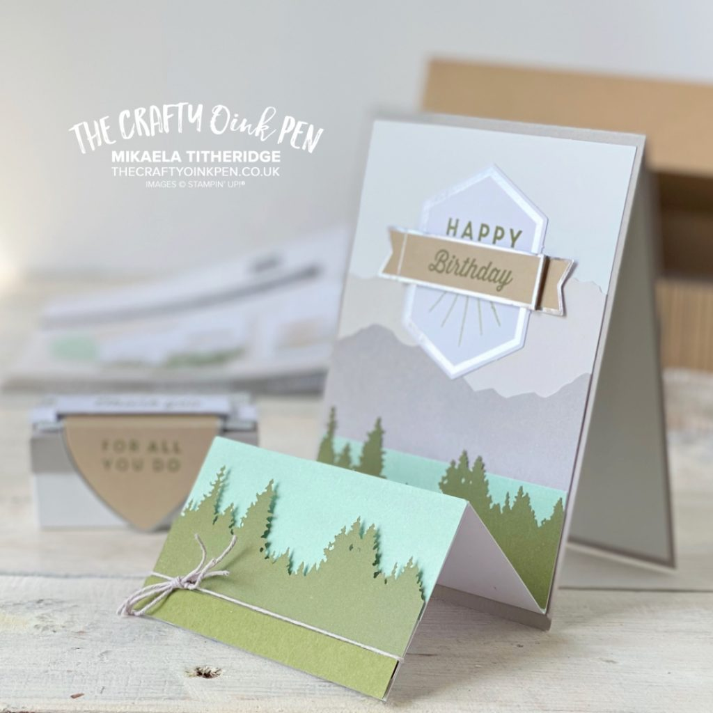OSAT Masculine Card One for the Guys Mountains and trees