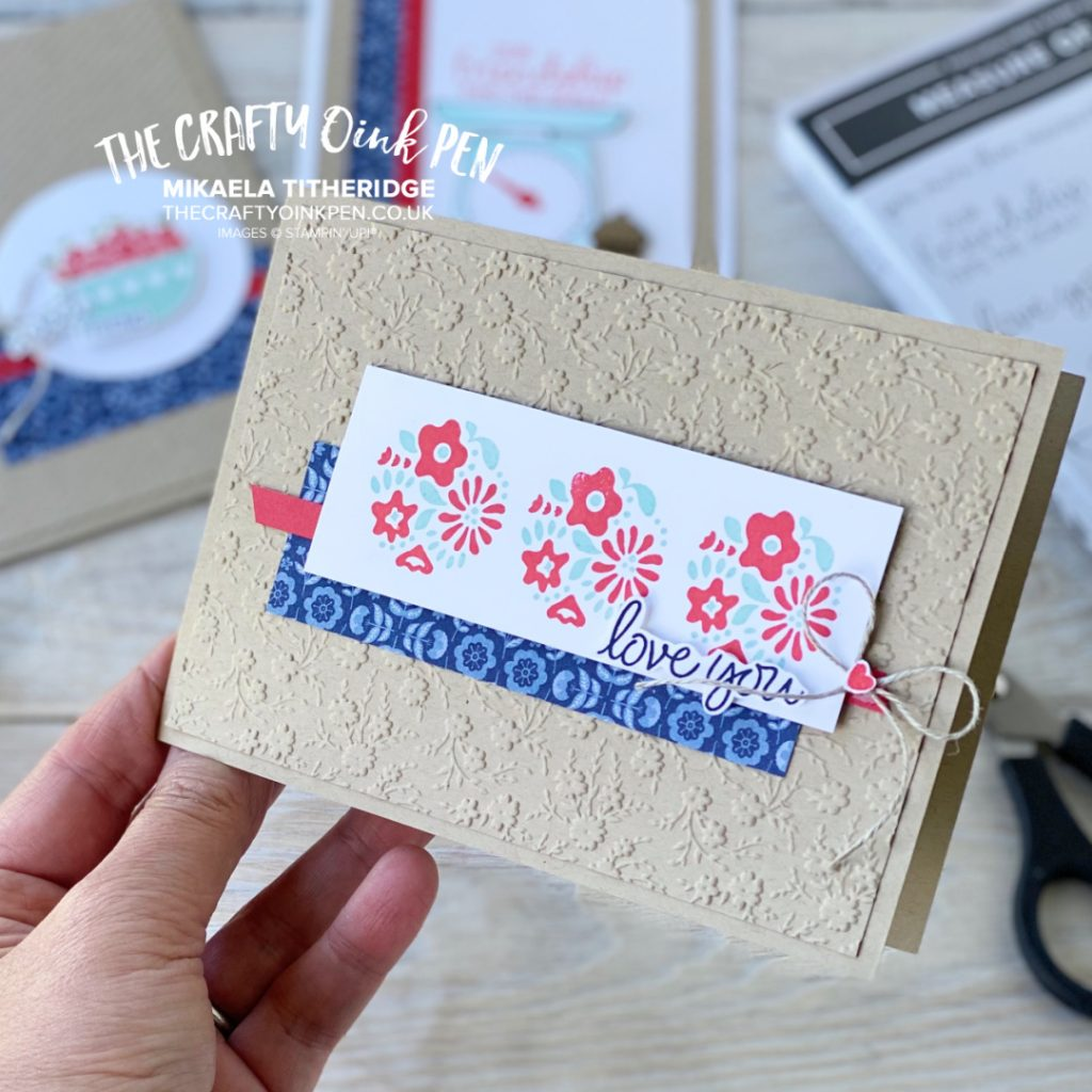 Stampin' Up! Measure of Love Floral Elements