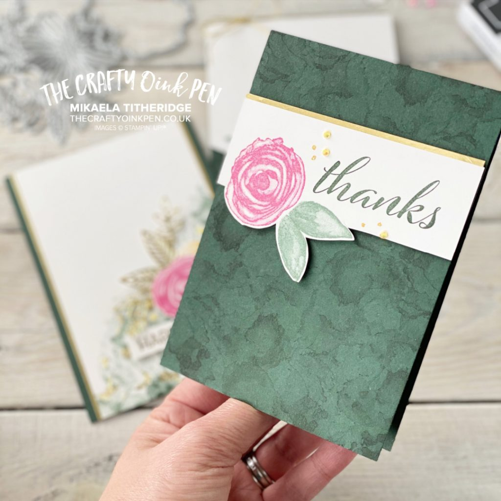 Stampin' Up! Floral Frenzy using Artistically Inked