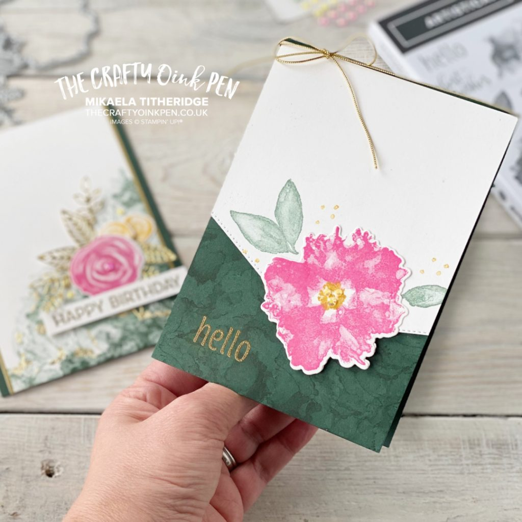 Stampin' Up! Artistically Inked used for a Floral Frenzy set of handmade cards