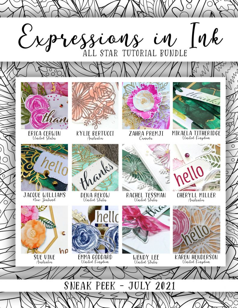 All Star Tutorial Bundle July 2021 using Expressions in ink