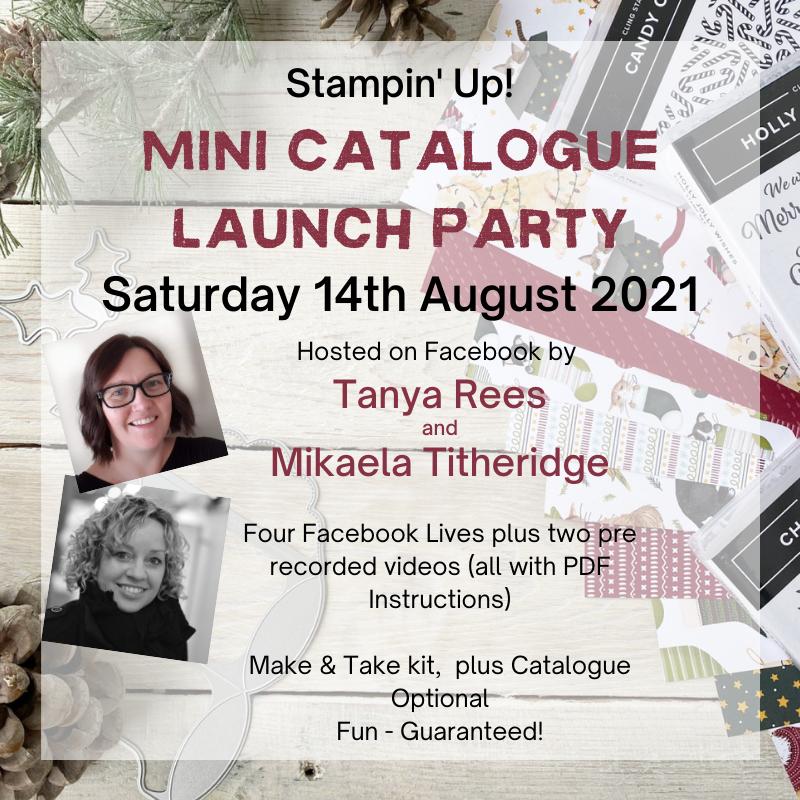 Online Catalogue Launch party Advert