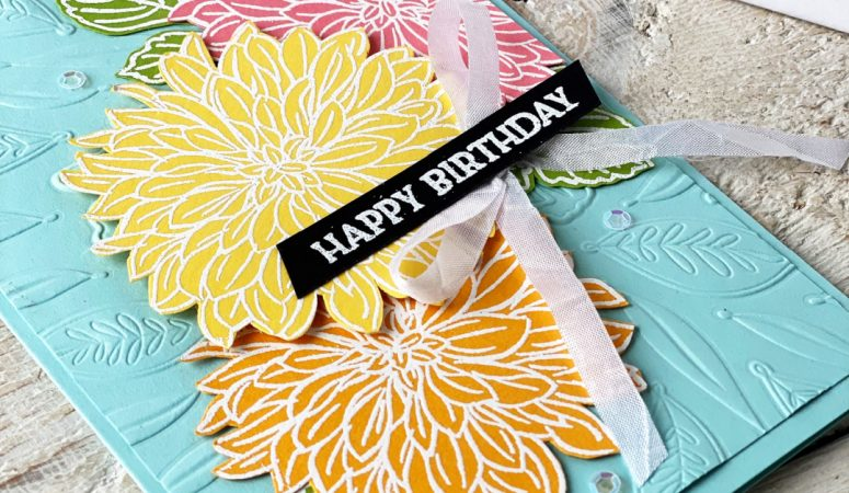 Stampin' Fancy Friday – Fancy Floral Challenge