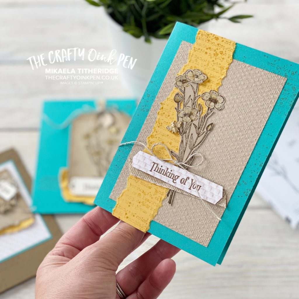 Creation Stations Quiet Meadow card of texture