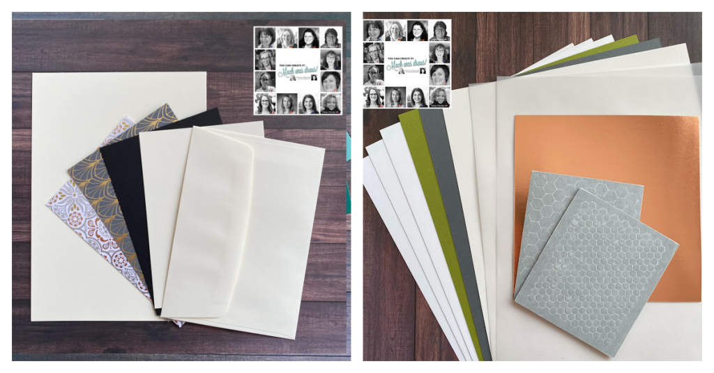 Stampin' Up! Quarterly Papercraft Kit using Simply Elegant Papers