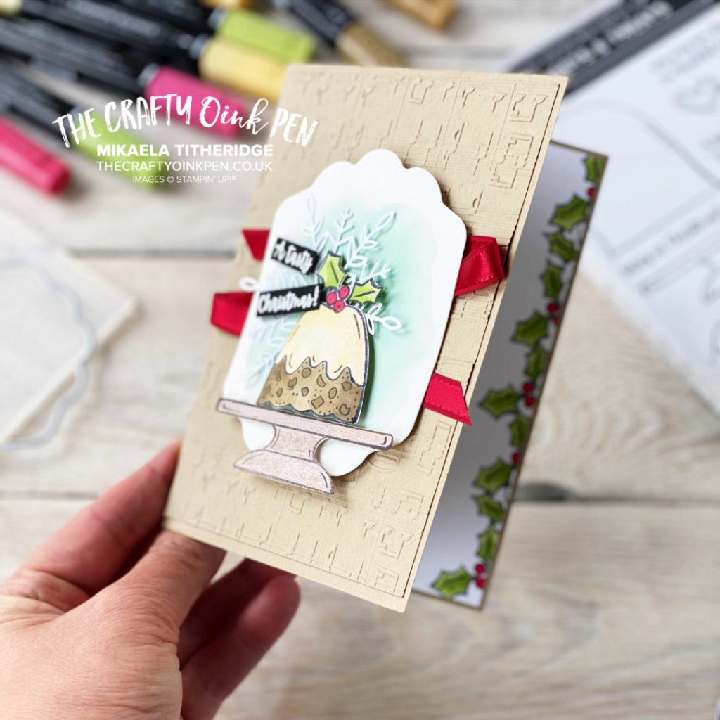 Handmade Greetings card using Merry Melody and Sweets and Treats by Stampin' Up!