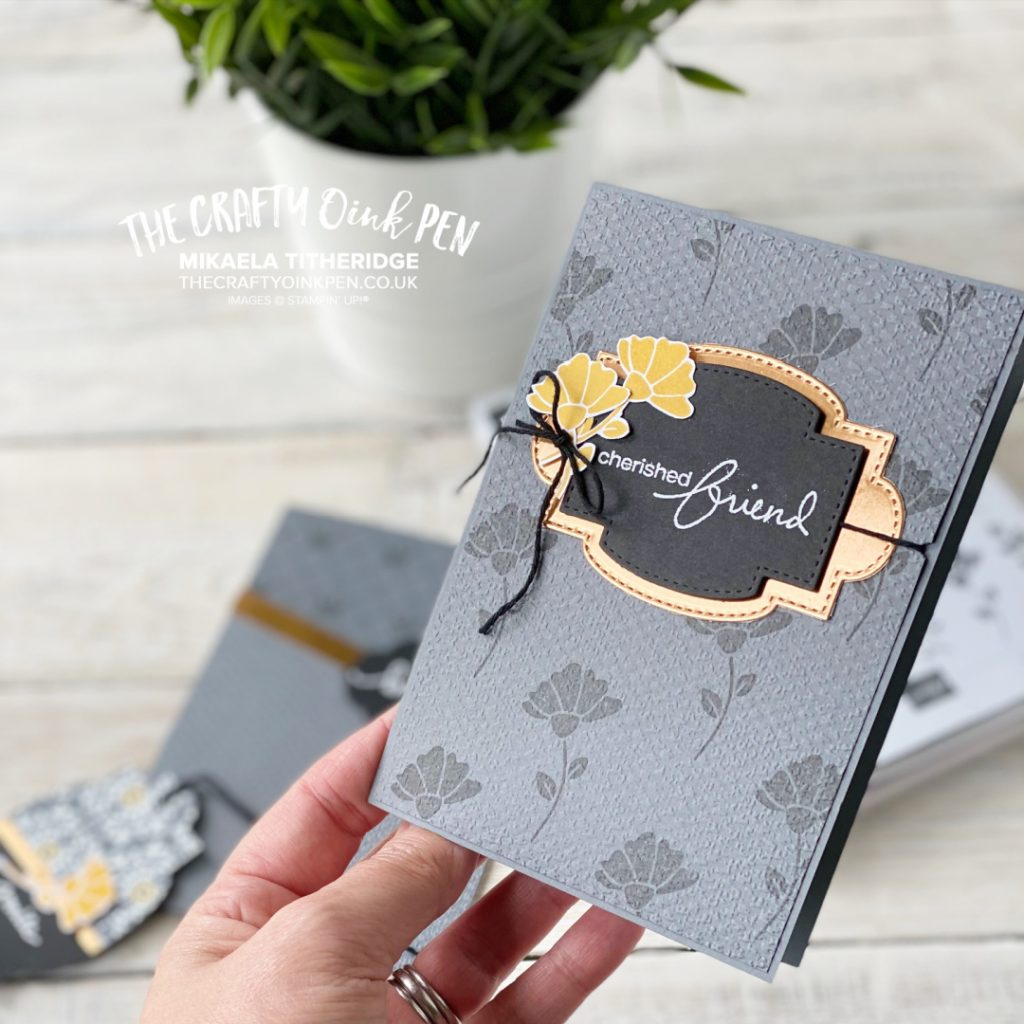 YCCI You Can Create it papercraft kit card project
