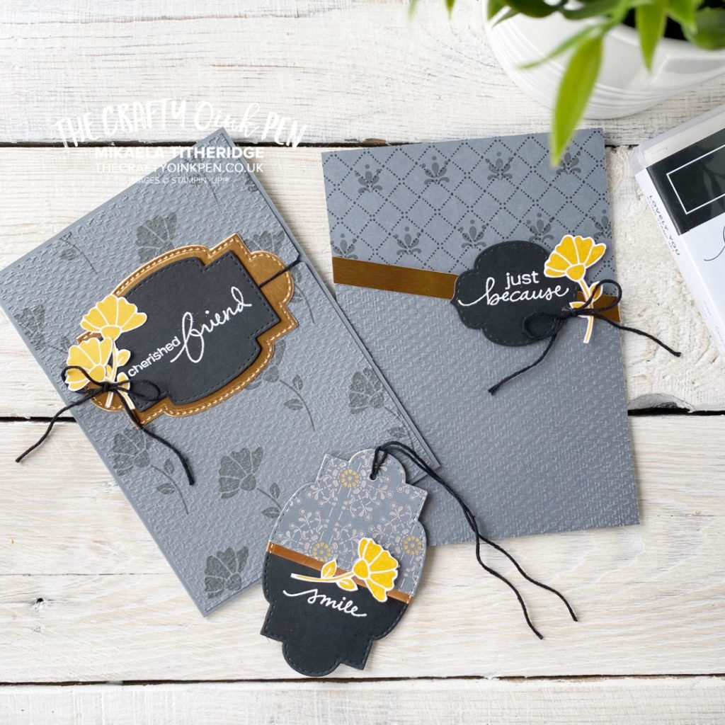 YCCI Lovely You and Simply Elegant Paper Card and Tag Set