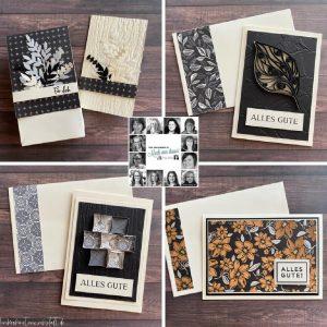 YCCI Quarterly papercraft kit project by Heike