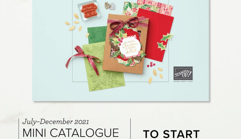 New Stampin' Up! Mini Catalogue and Sale-a-Bration