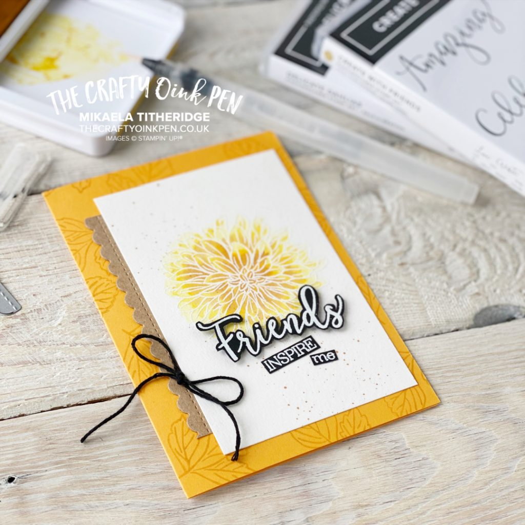 Welcome to the Team and Create with Friends Friendship Card by Mikaela Titheridge